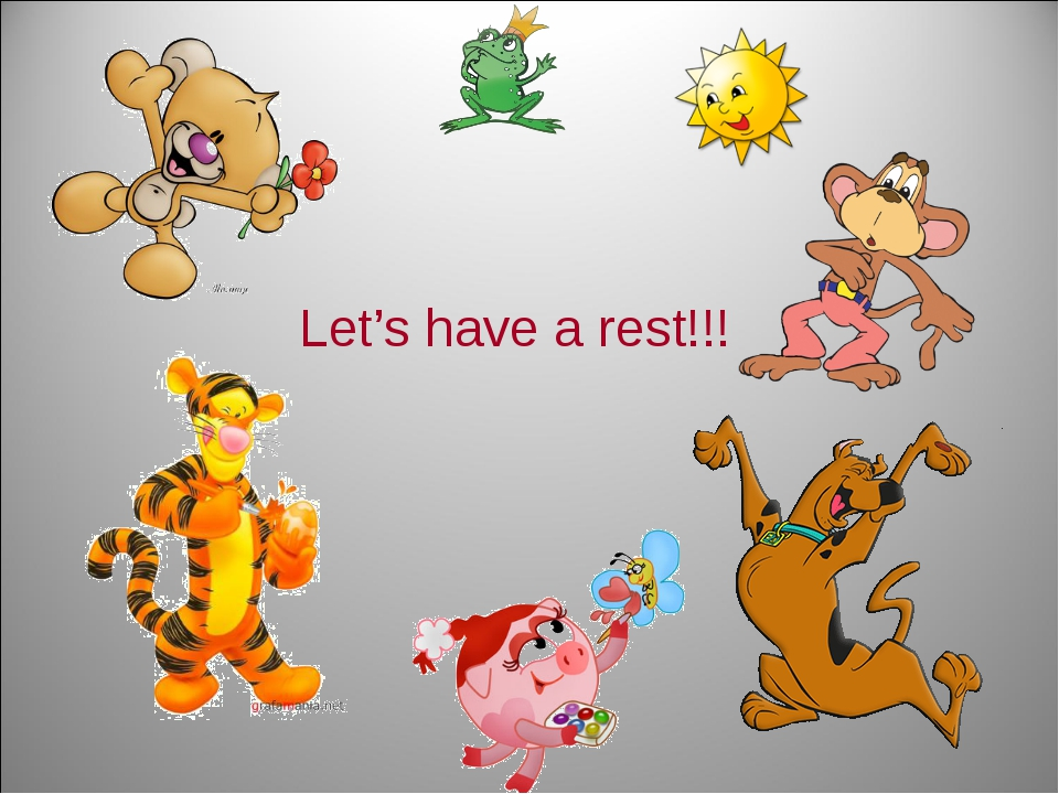 Let's have a rest!!!