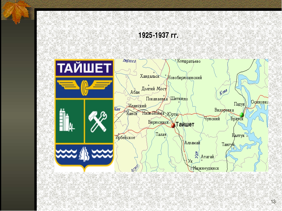* 1925-1937 гг.
