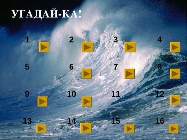 УГАДАЙ-КА! 1234 5678 9101112 13141516