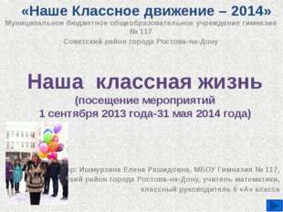 Муниципальное бюджетное общеобразовательное учреждение гимназия № 117 Советск