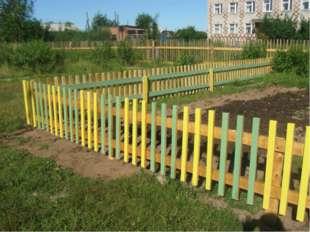 Июнь 2011 года Строительство лесного питомника на территории школы