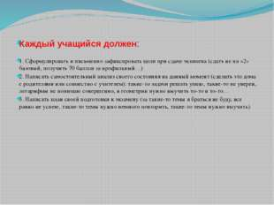 Проект расписания проведения единого государственного экзамена и государствен