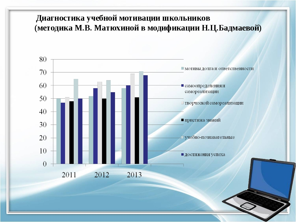 Диагностика учебной мотивации школьников (методика М.В. Матюхиной в модификац...