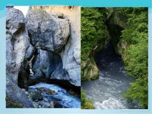 Река Фиагдон, бурная, шумная, как и все реки Северной Осетии, кажется, что св