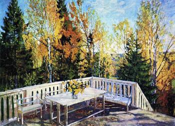 Жуковский осень Веранда