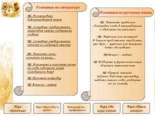 Разминки по литературе №1. Напишите правильно одинаковые слова в стихотворен