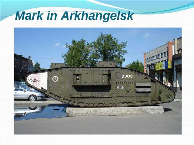 Mark in Arkhangelsk