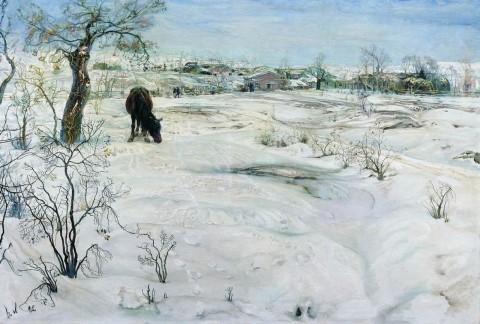 Зима, И. Бродский