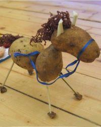 Поделки из сырого картофеляg