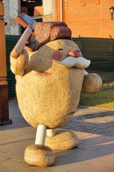 Фото Памятник картофелю Мариинск (Кемеровская область)