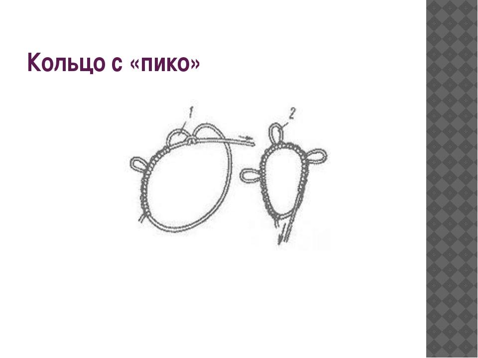 Кольцо с «пико»