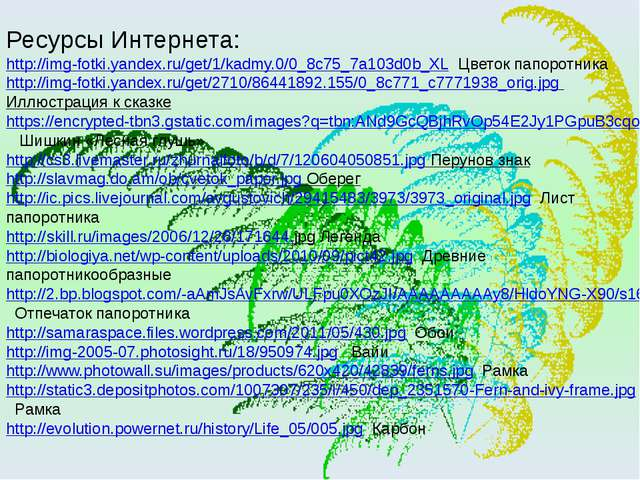 Ресурсы Интернета: http://img-fotki.yandex.ru/get/1/kadmy.0/0_8c75_7a103d0b_X...