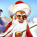 Узбекский Дед Мороз Корбобо