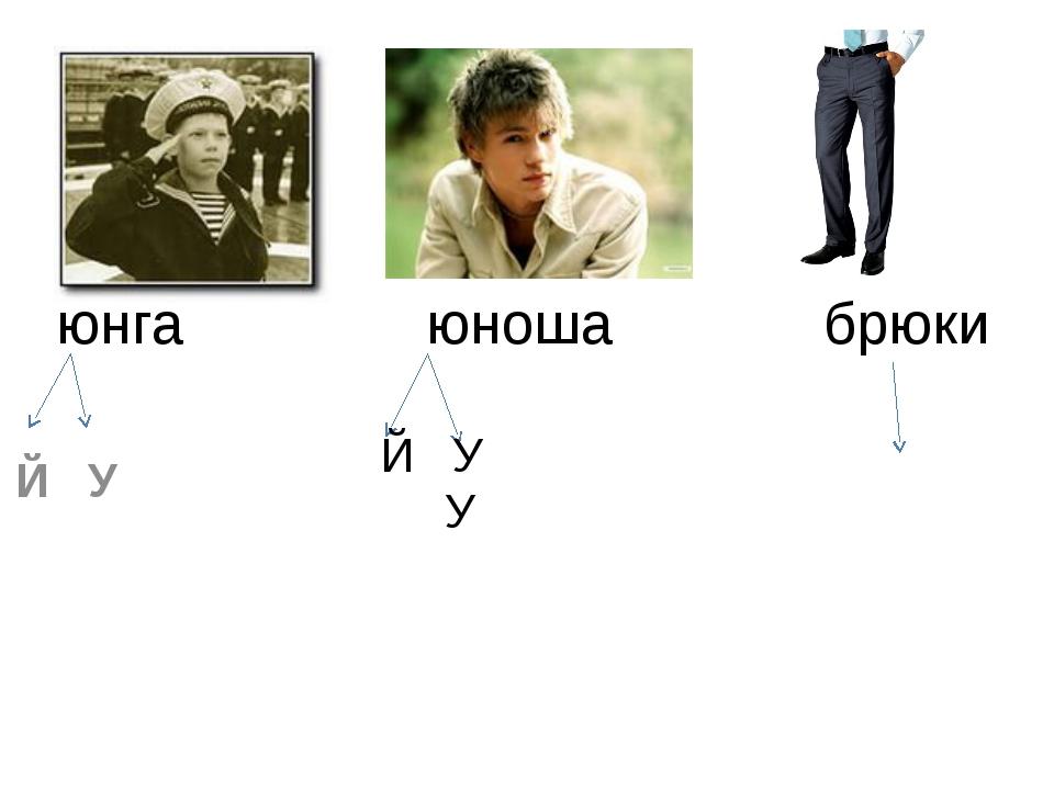 юнга юноша брюки Й У Й У У