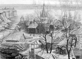 Крепость Дмитриевск на Камышинке у Волги