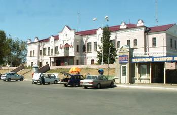 Железнодорожная станция Камышин (2008г)