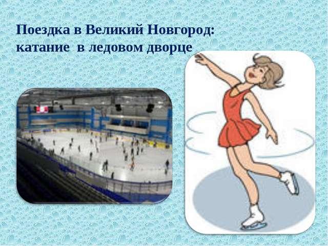 Поездка в Великий Новгород: катание в ледовом дворце