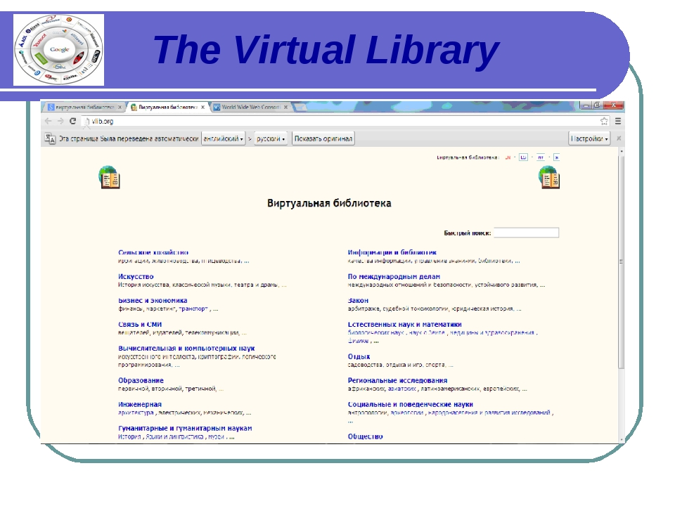 The Virtual Library