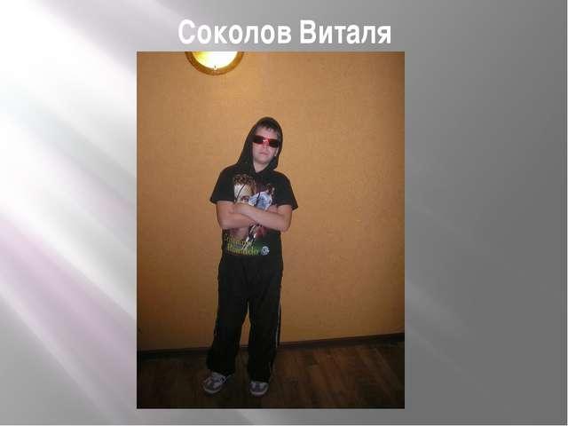 Соколов Виталя
