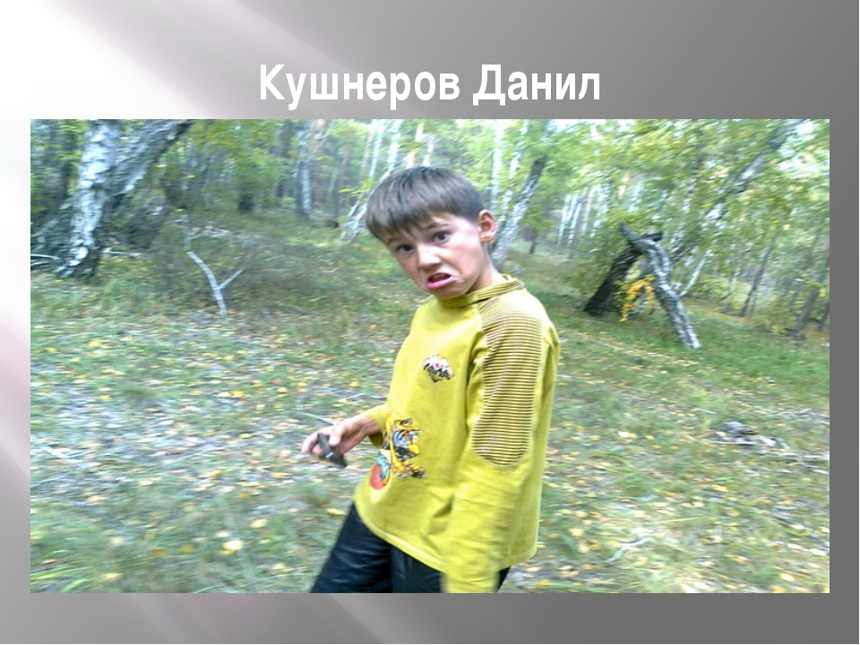 Кушнеров Данил
