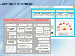 1. Слайды и презентации