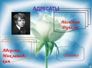 Шаганэ Августа Миклашевская Айседора Дункан