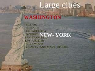 NEW- YORK WASHINGTON BOSTON CHICAGO PHILADELPHIA DETROIT SAN- FRANCISCO LOS-
