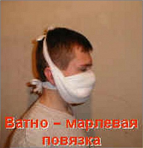 Марлевая маска сделать самим
