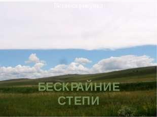 , БЕCКРАЙНИЕ СТЕПИ