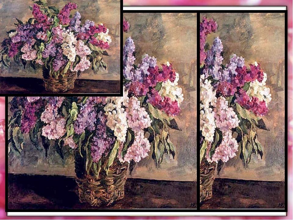 Сирень Букет Цветы Белая Розовая Светло-лиловая Тёмно-красная Фиолетовая Голу...