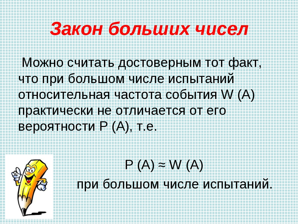 кубе закон больших чисел примеры функции: синус угла