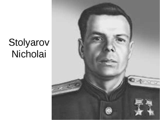Stolyarov Nicholai