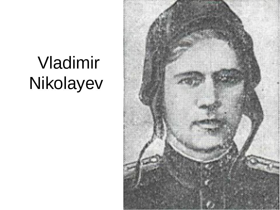 Vladimir Nikolayev