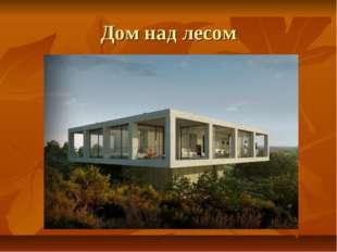Дом над лесом