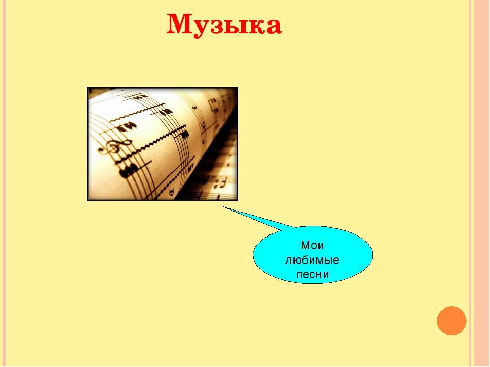 Музыка Мои любимые песни
