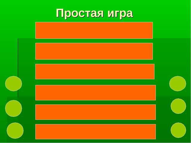 Простая игра Клавиатура31 Мышь28 Сканер 24 Микрофон11 Джойстик5 Светово...