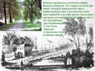 Залесье находилось на полпути между Вильно и Минском. Его гордостью были два