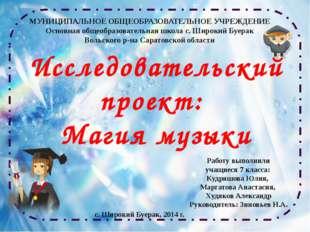 Работу выполнили учащиеся 7 класса: Кудряшова Юлия, Маргатова Анастасия, Худя