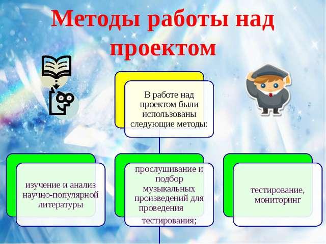 Методы работы над проектом