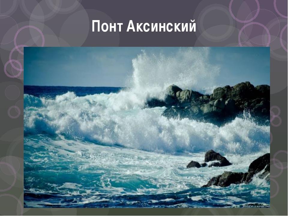 Понт Аксинский