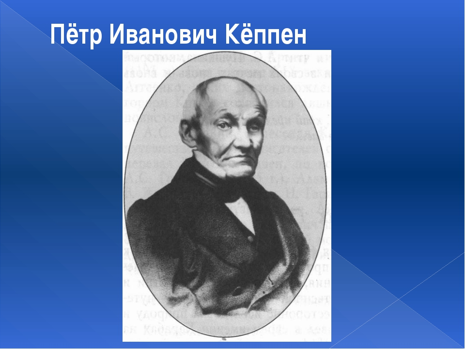 Пётр Иванович Кёппен
