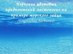 Выполнила: Горбарова Ольга Ученица 8б класса МБОУСОШ №31 Руководители: Упадыш