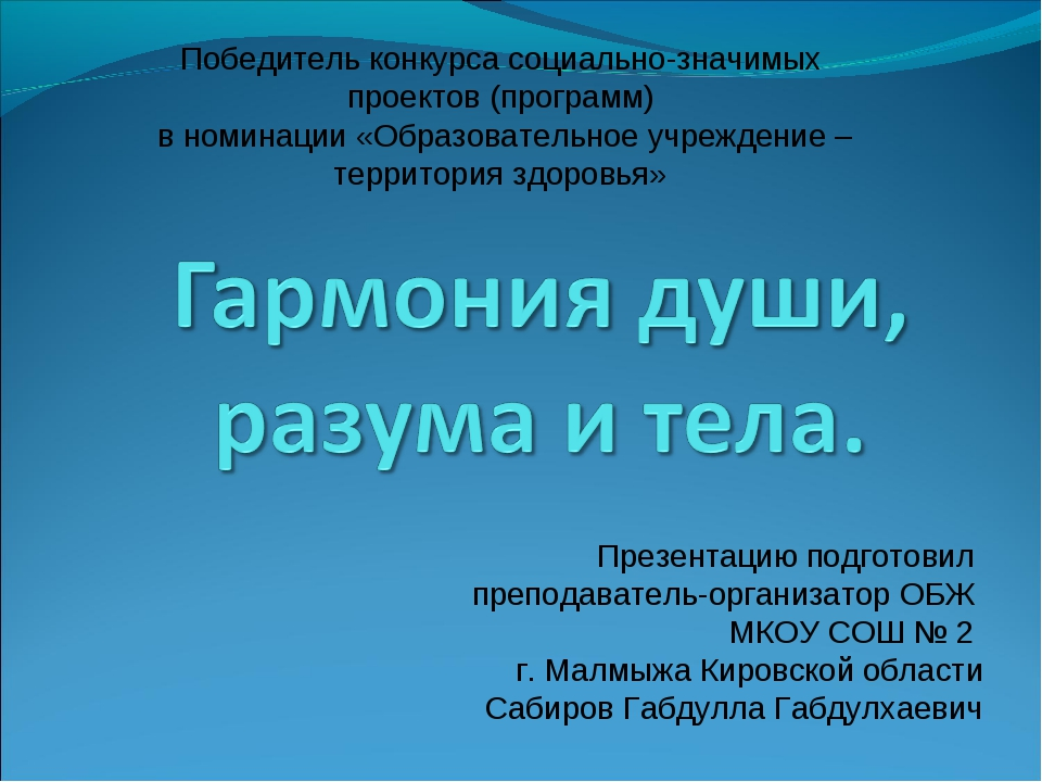 Победитель конкурса социально-значимых проектов (программ) в номинации «Образ...