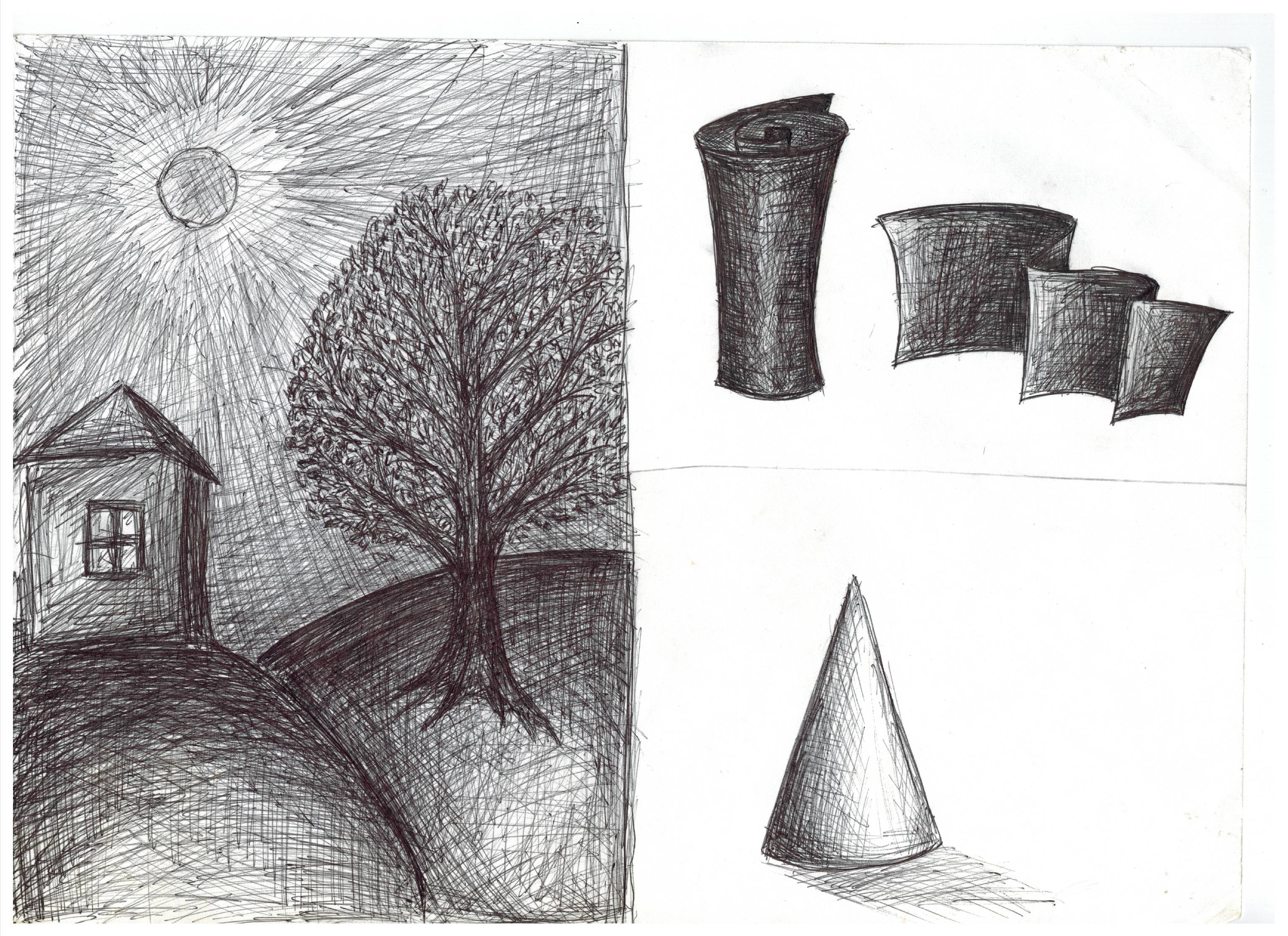 Картинки для 6 класса по изо карандашом, приглашения торжественное