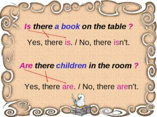 Is there a book on the table ? Are there children in the room ? Yes, there is