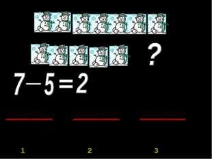 1 «А» 1 «Б» 1 2 3 ? ? ? 7 5