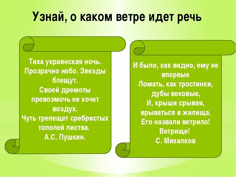Узнай, о каком ветре идет речь Тиха украинская ночь. Прозрачно небо. Звезды б...