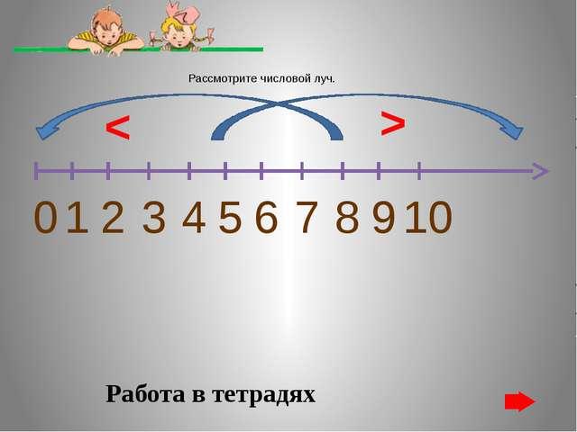 Сравни числа. Поставь правильно знак 5 9 > < Нажми на знак