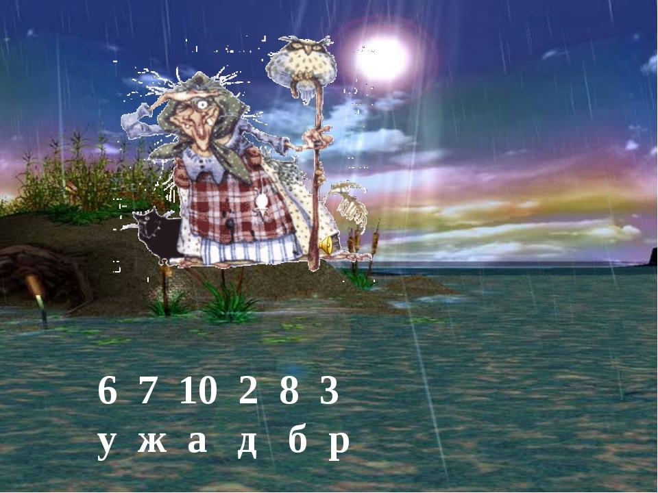 http://aida.ucoz.ru 6 7 10 2 8 3 у ж а д б р