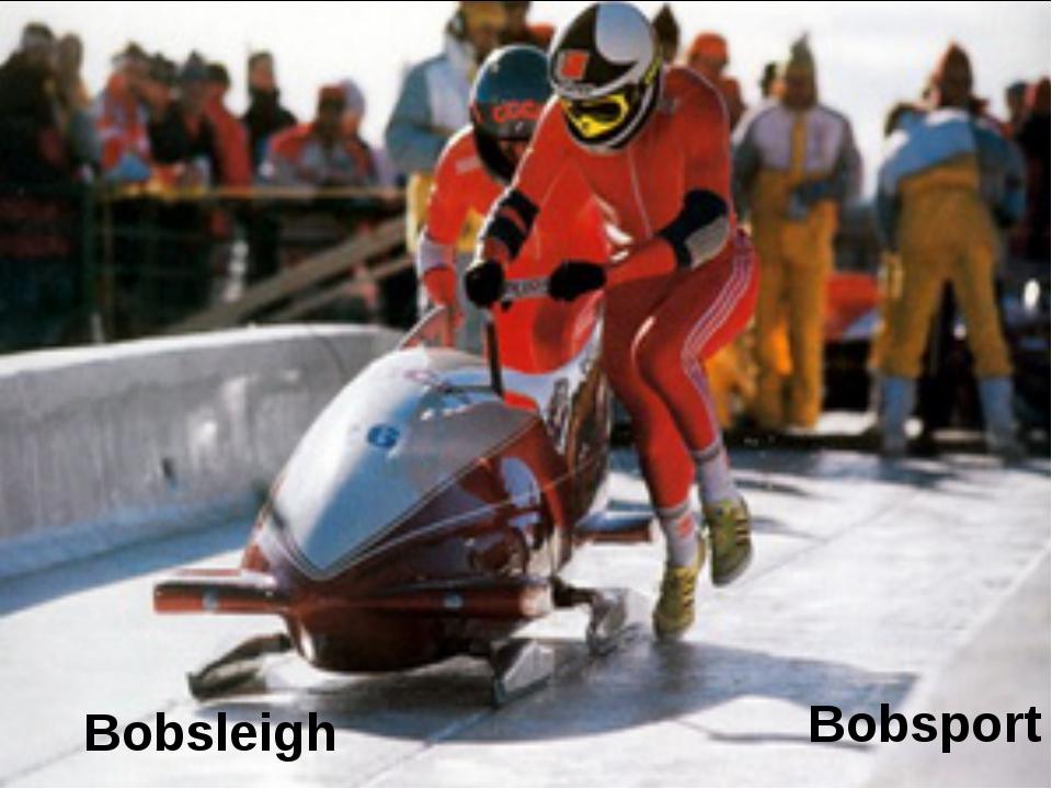 Bobsleigh Bobsport